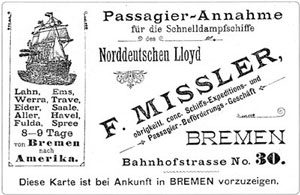 [ A Bremen travel advertisement ]